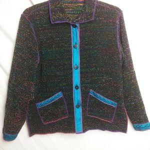 Yak Magik Art to wear Reversible Jacket